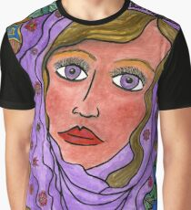 Woman with Veil Graphic T-Shirt