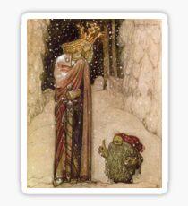 Fairy Princess - John Bauer Sticker