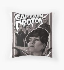 Captain Proton Throw Pillow