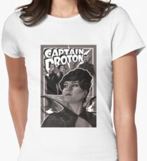 Captain Proton Women's Fitted T-Shirt