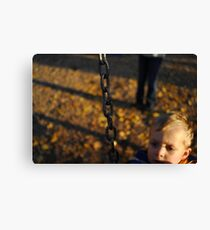 Swinger Canvas Print