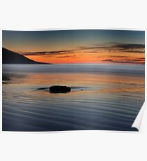 Sunset rock,Rossbeight Poster