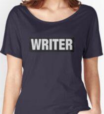 Writers aren't bulletproof Women's Relaxed Fit T-Shirt