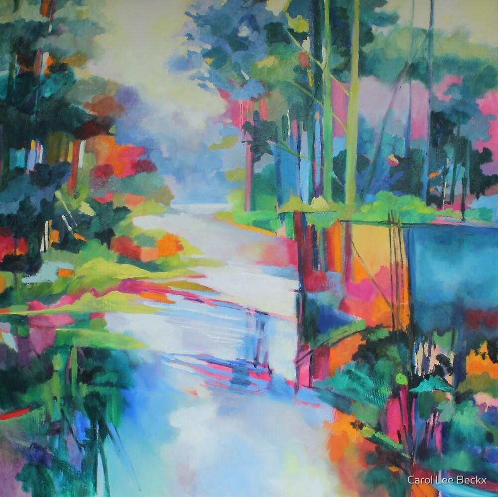 Bunya Riverside by Carol Lee Beckx