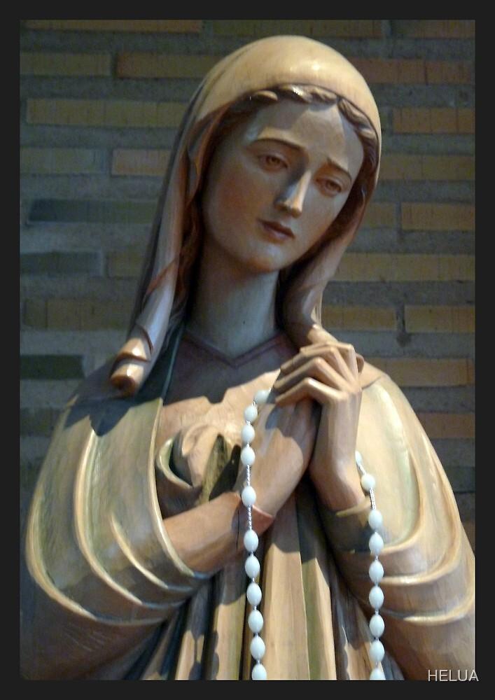 Virgin Mary by HELUA