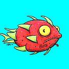 Mer-Dragonfruit by Natalie Metzger
