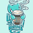 Scribbles: DO THE THING by Em Varosky