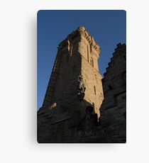 Wallace Monument on St. Andrew's Day Canvas Print