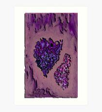 Purple Purhaps Art Print