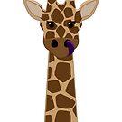 Giraffe Hug Solo by Whiffahugs