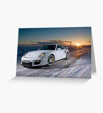 Porsche 997 GT2 Greeting Card
