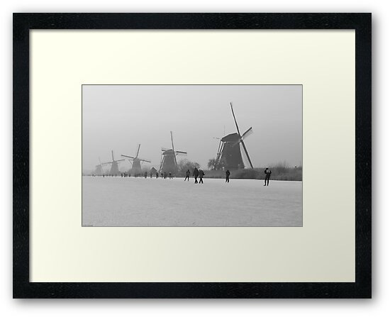 Winter Nostalgia: Icescating Home by ferryvn