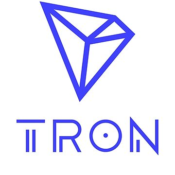 TRON TRX Crypto Blue by BitcoinBros
