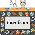 Fish Train by chyneyee