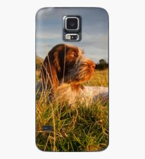 Spinone Puppy Sunset Case/Skin for Samsung Galaxy