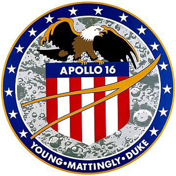 Apollo 16 Mission Patch by zachsbanks