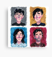Conor Oberst Through the Ages Canvas Print