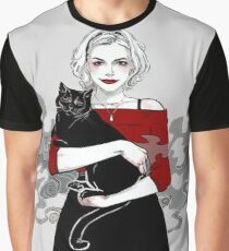 Chilling Sabrina The Teen Age Witch Graphic T-Shirt