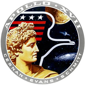 Apollo 17 Mission Patch by zachsbanks