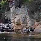 sandstone shoreline by TerrillWelch