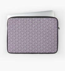 Grey Goyard Laptop Sleeve