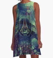 Illustration PSG Art A-Line Dress