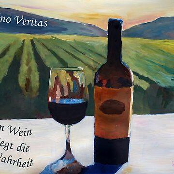In vino veritas - im Wein liegt die Wahrheit by artshop77