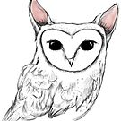 The rabbit owl  by annieclayton
