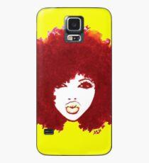 Funda/vinilo para Samsung Galaxy Camiseta Curly Afro Autumn Proud Of Natural Hair