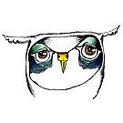 Blue Bagged Eyes by annieclayton