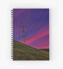 """""""Power on High"""" Spiral Notebook"""