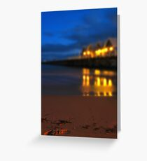 Busselton Footsteps Greeting Card