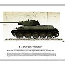 T-34/57 Exterminator by TheCollectioner