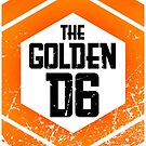 The official Golden D6 merchandise shop by geektradingco