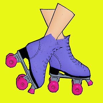 Retro Rollerskates! (Roller Disco/Roller Derby) by loveplasticpam