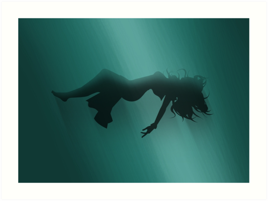 Aerith Sinking Prints by PixelKnight