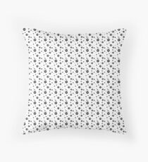 Dust Bunnies Throw Pillow