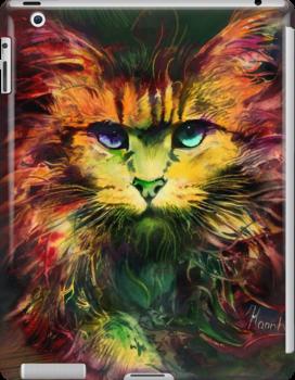 Schrödinger's cat by Anna Miarczynska