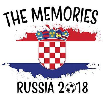 CROATIA WORLD CUP RUSSIA 2018 by JustBeWonderful