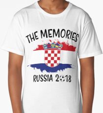 CROATIA WORLD CUP RUSSIA 2018 Long T-Shirt