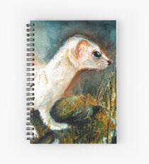 Winter Stoat Cuaderno de espiral