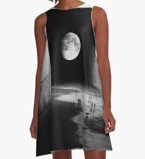 Vestido acampanado A la Luna
