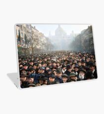 Antwerp, Belgium, a few hours after the Germans surrendered and an end of World War I. 11th November 1918 Laptop Skin