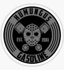 Lord Humungus gasoline Sticker