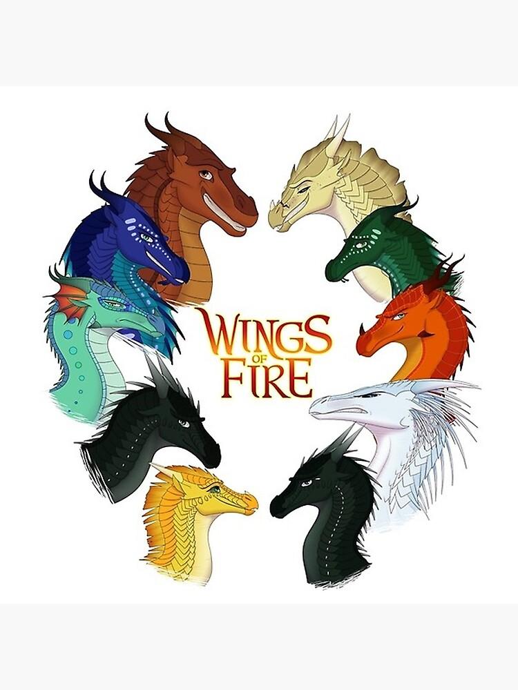 Flügel des Feuers von lusherdarle