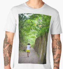 Growing up in Jamaica  Men's Premium T-Shirt