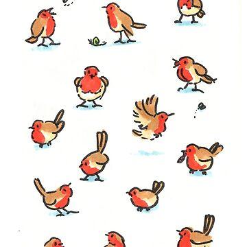 A Round of Robins by Jezhawk