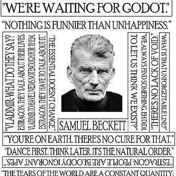 Beckett's quote by silentstead