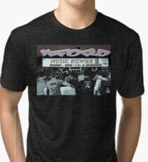 ILFORD MUSIC POWER  Tri-blend T-Shirt