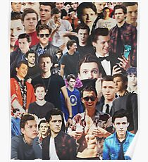 Tom Holland collage Poster